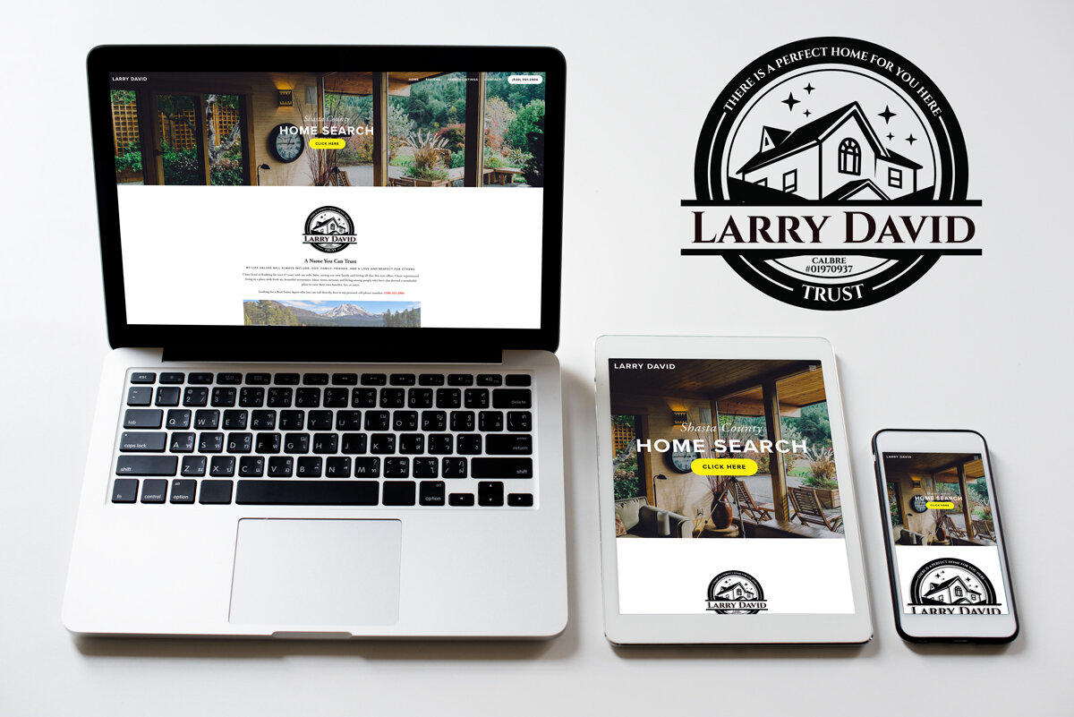 Larry David Real Estate: Squarespace Build