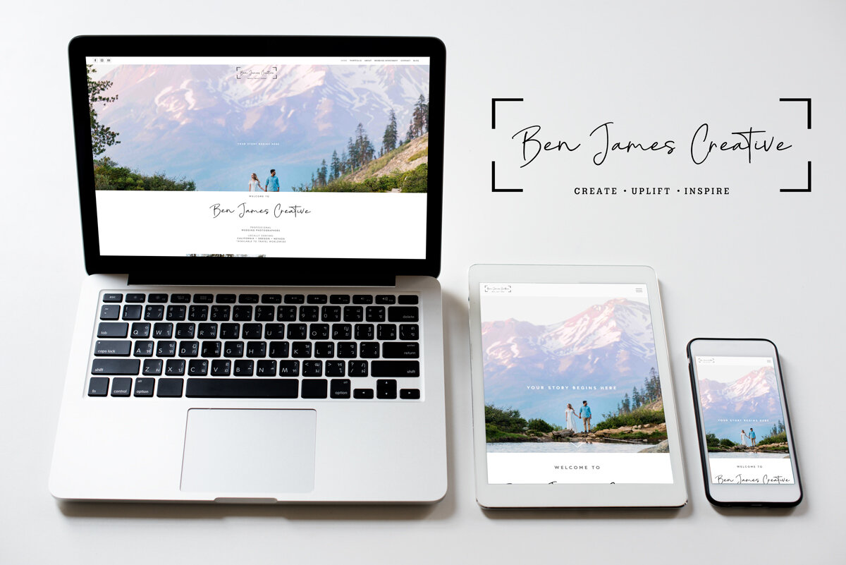 Ben James Creative: Squarespace Build