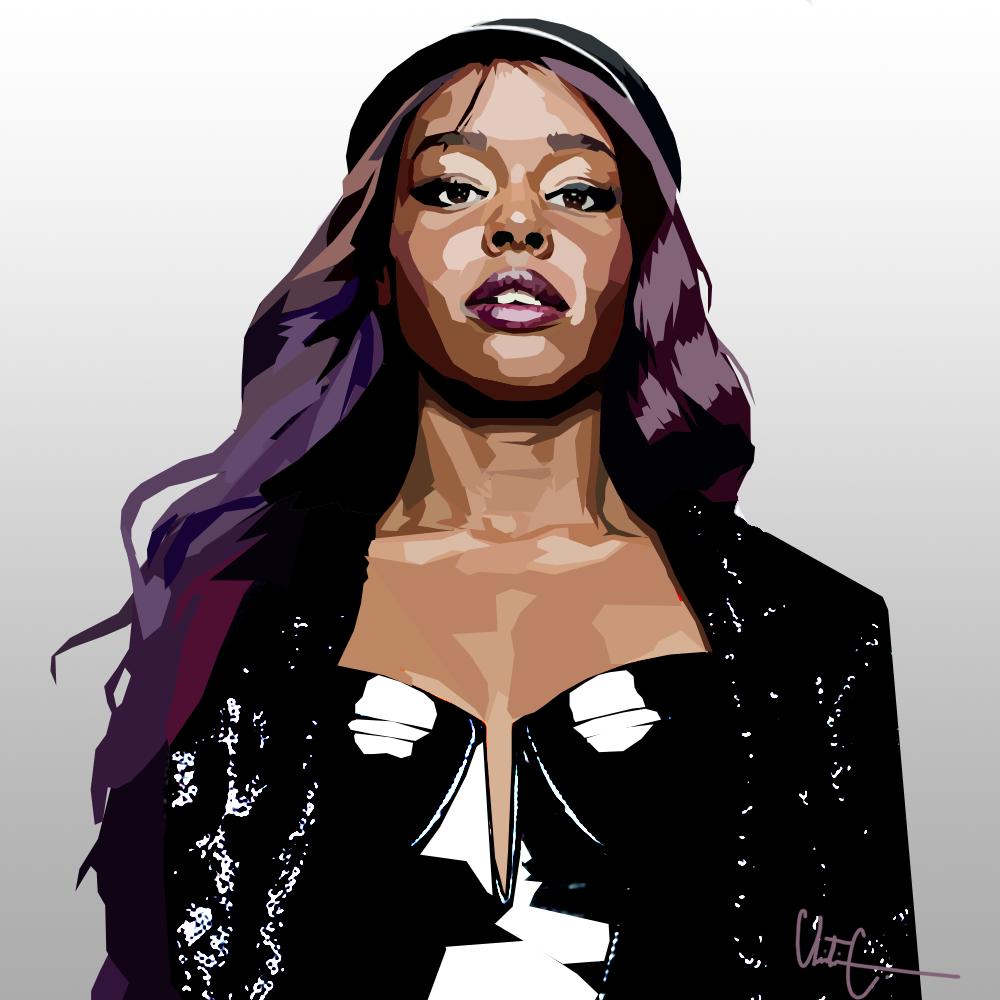 Azealia Banks.