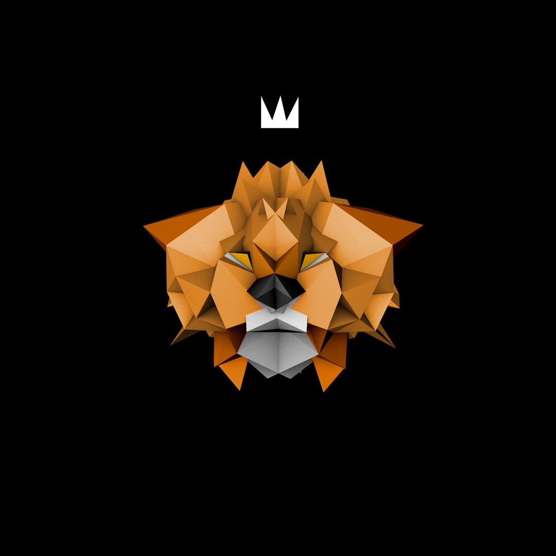 Low Poly Lion.