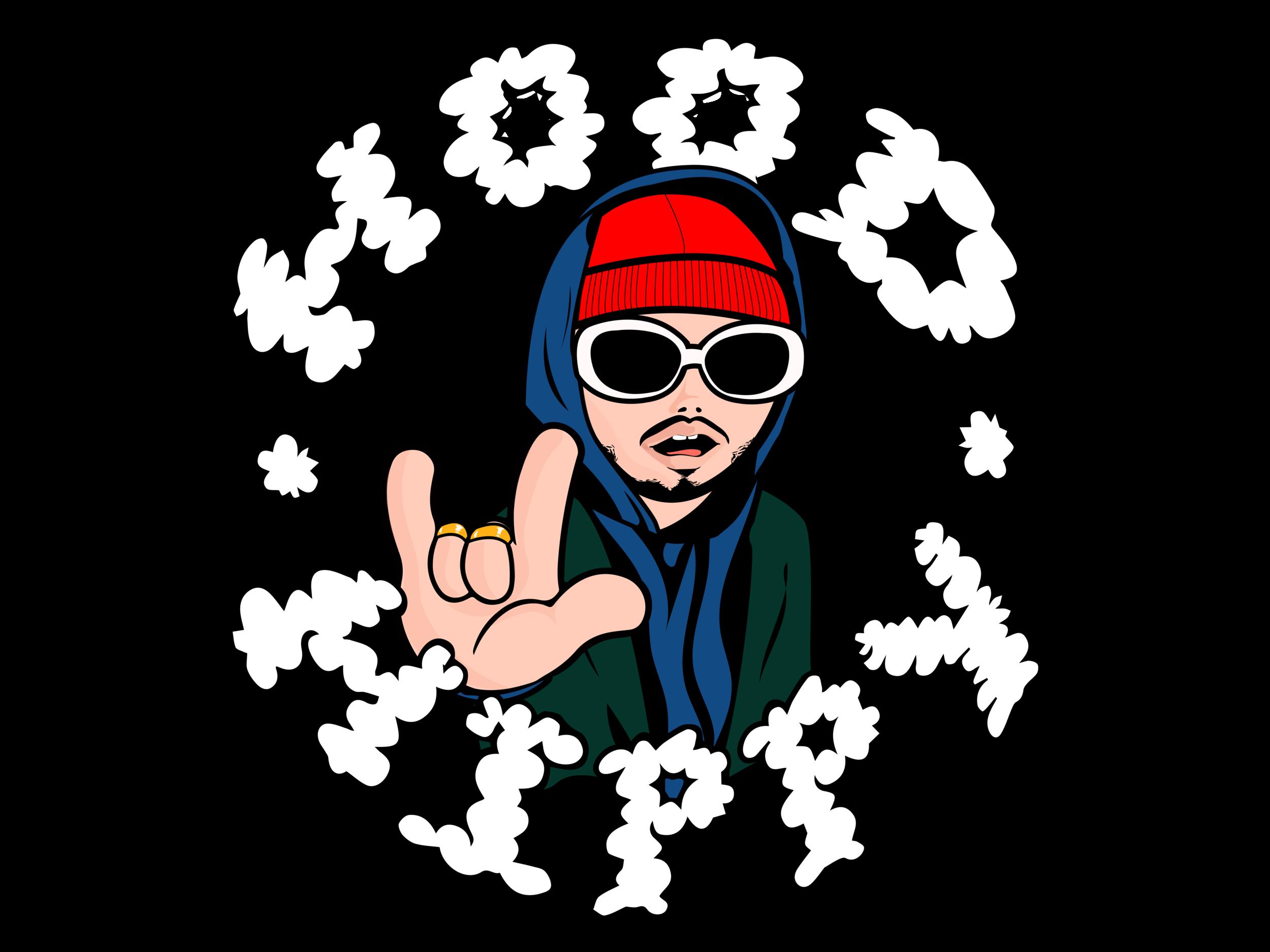 "Andy Mac Logo ""Hood Hippy"""