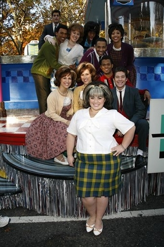 The Cast of the HAIRSPRAY movie at Macy's Thanksgiving Day Parade