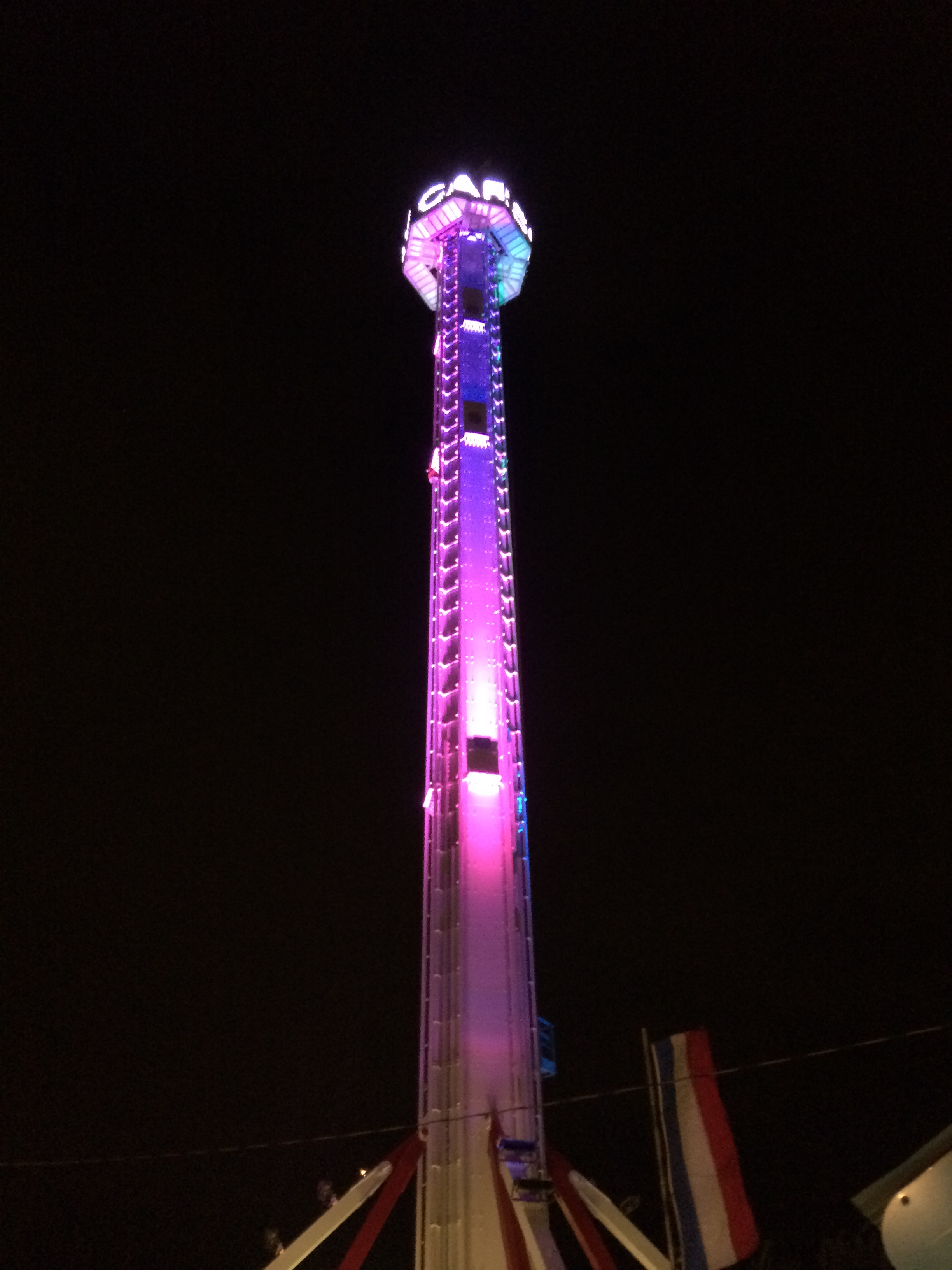 Drop Tower with Video Wall, World of Wonderland - Amarillo, TX