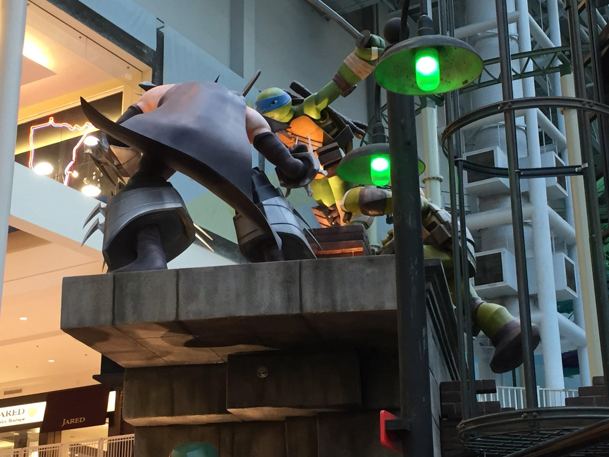 Parkwide Lighting, Nickelodeon Universe at Mall of America - Minneapolis, MN
