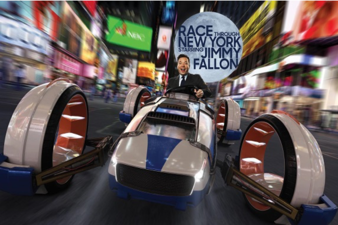Race Through New York Starring Jimmy Fallon, Universal Studios - Orlando, FL