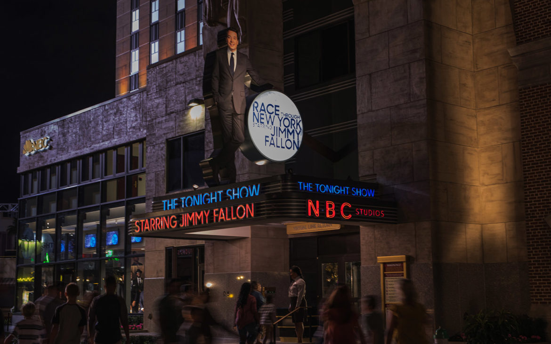 Race Through New York Starring Jimmy Fallon, Universal Studios - Orlando, FL
