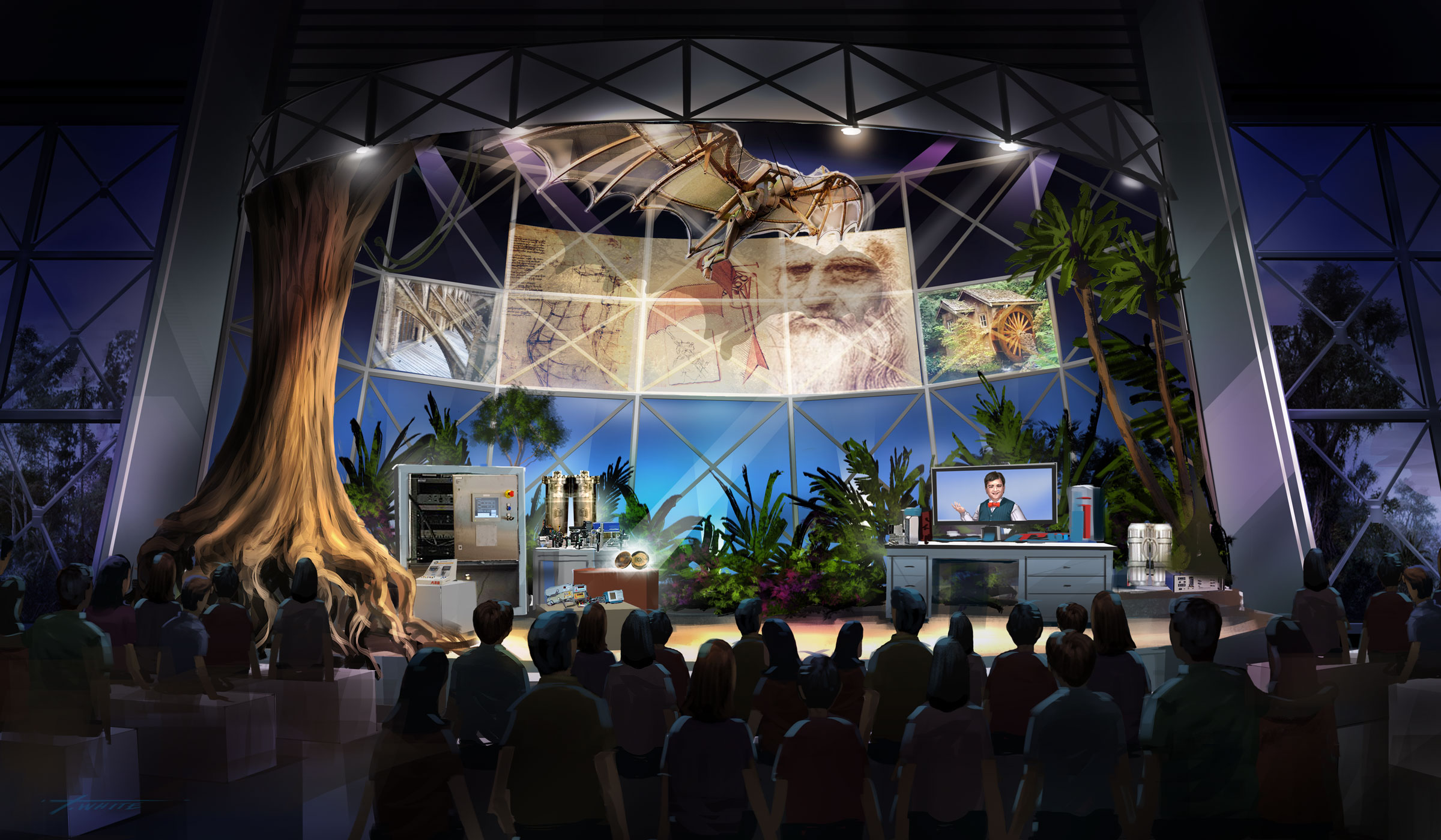 Concept Design for Science Center Themed Experience