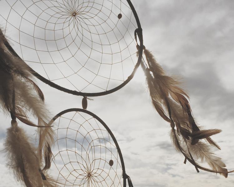Julie Cimpko  -Imaginethat all of your dreams can come true. (Dreamcatcher photo taken in Laguna Beach, CA)
