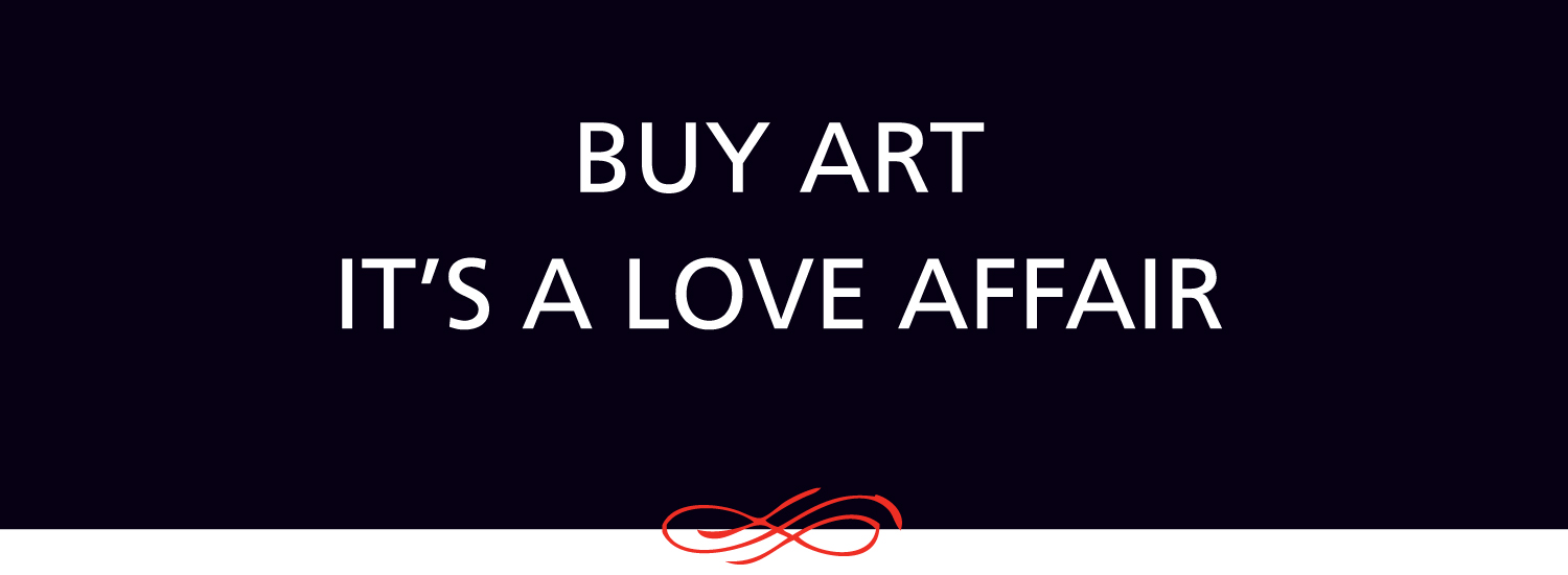 If you know how to fall in love, you know how to buy art.