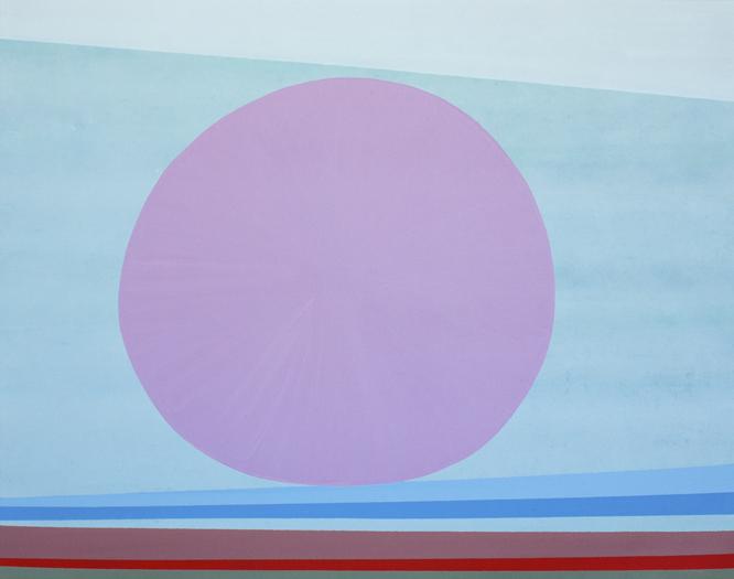 """William Perehudoff, """"AC-72-39"""",1972, Acrylic on canvas, 40"""" x 48 1/2"""""""