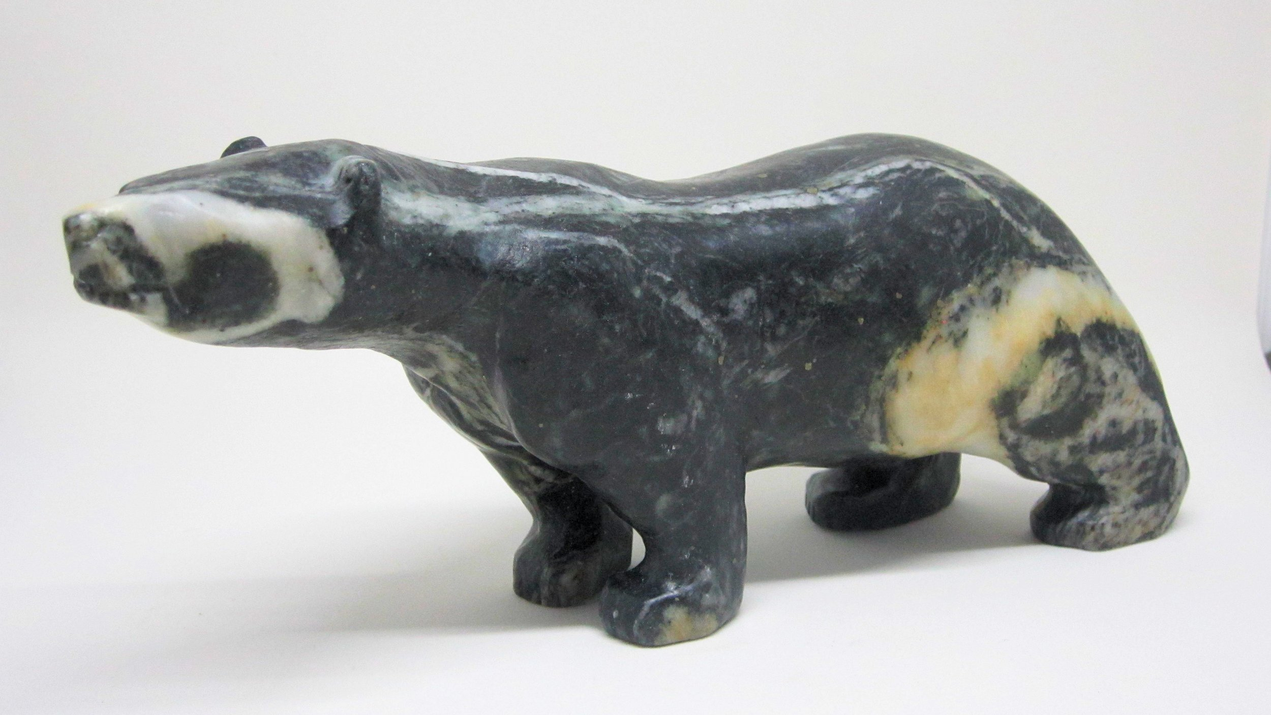 "Mark Totan, ""Bear"", serpentine, $1,300.00"