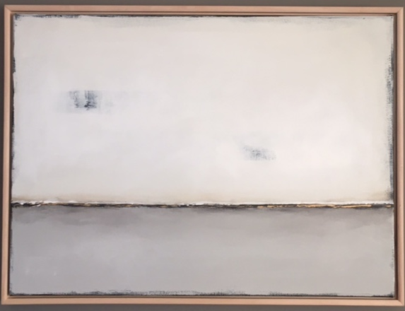 "Joleen Claypool, ""Winter Mist"", 30""x22"", acrylic on canvas, $350."