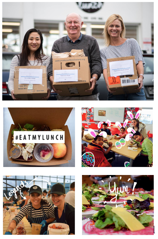 Buy One Give One - Eat My Lunch - The successful Buy One Give One Food Business helps kiwi kids in need. We design the campaign in a balancing act between showcasing the product we trust, but also keeping the organic/non-commercial look and feel. The campaign drove a significant amount of subscriptions and catering orders, setting a great first basis for following digital marketing campaigns.