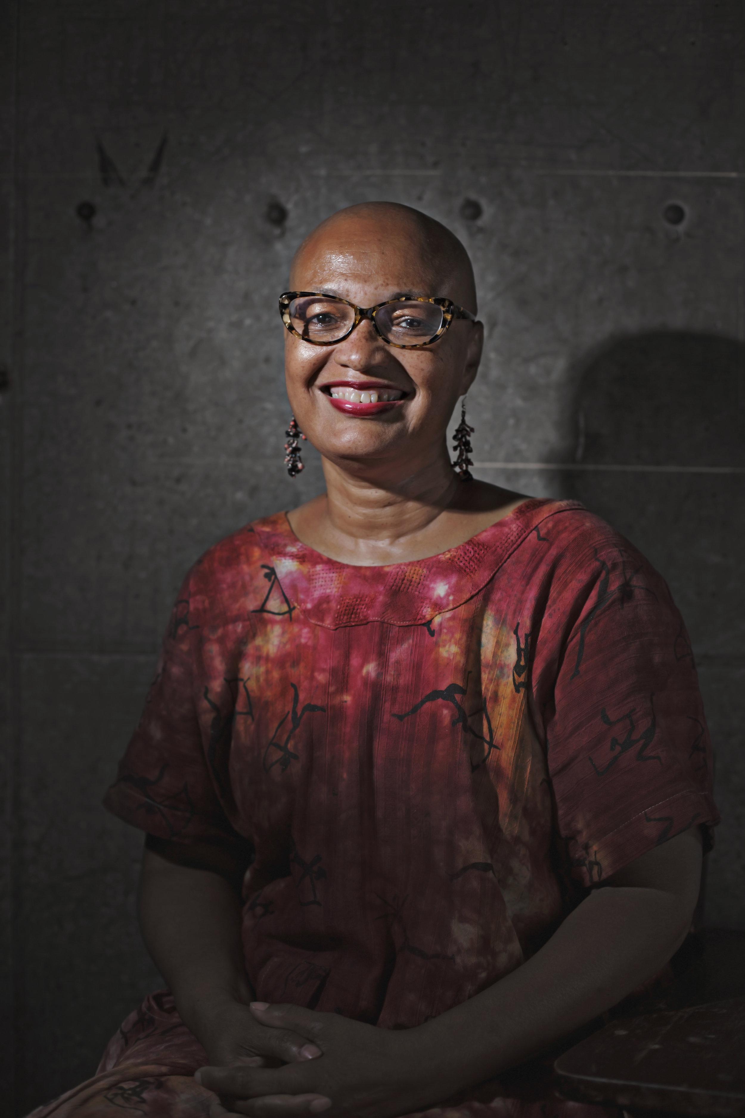 Mandisa Smith, artist,  Detroit Fiber Works