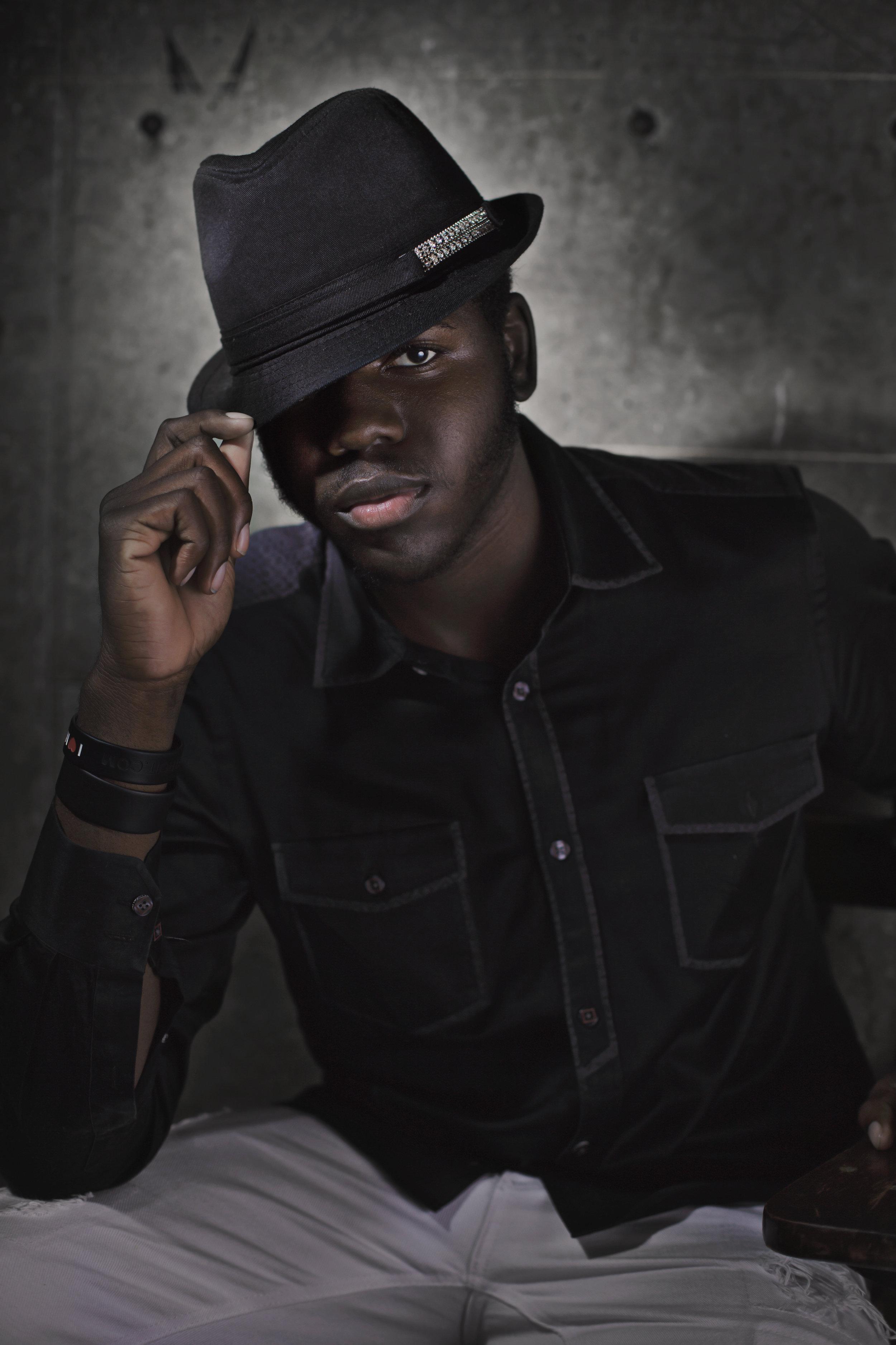 Melvin Johnson, high school student,aspiring entertainer.