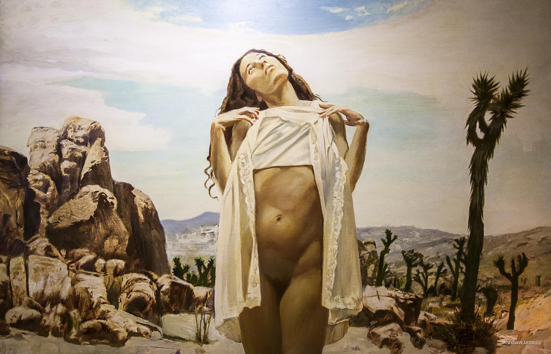 Artwork by Treason Gallery artist Billy Davis. Contemporary fine art in Pioneer Square Seattle, WA. Documentation by  WISEKNAVE