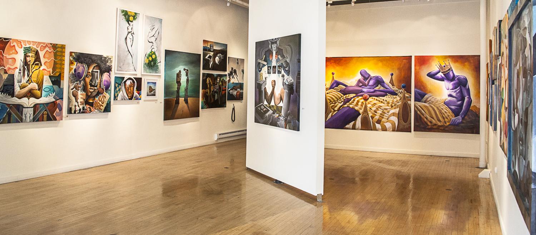 WISEKNAVE Fine Art Documentation for Treason Gallery, Brian Kirhagis, BK The Artist, 'Levels 2' Seattle, WA April, 2016