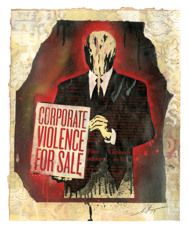 Copy of Corporate Violence For Sale, 2016