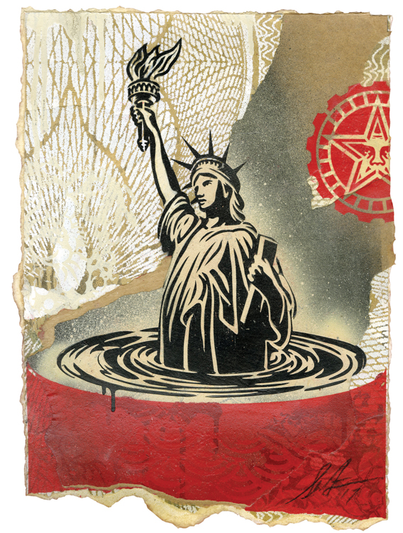 Copy of Sinking Liberty, 2017