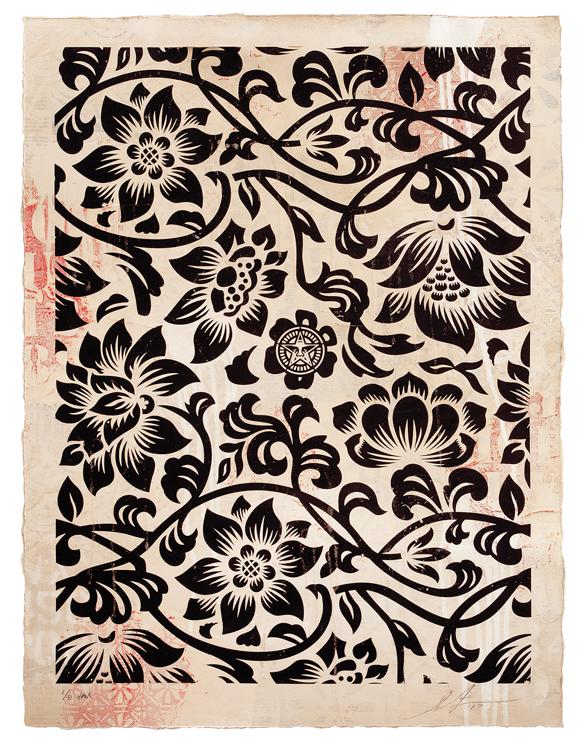 Copy of Floral Takeover (Black/Cream), 2017