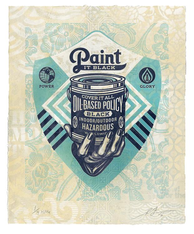 Paint It Black (Hand) , 2016