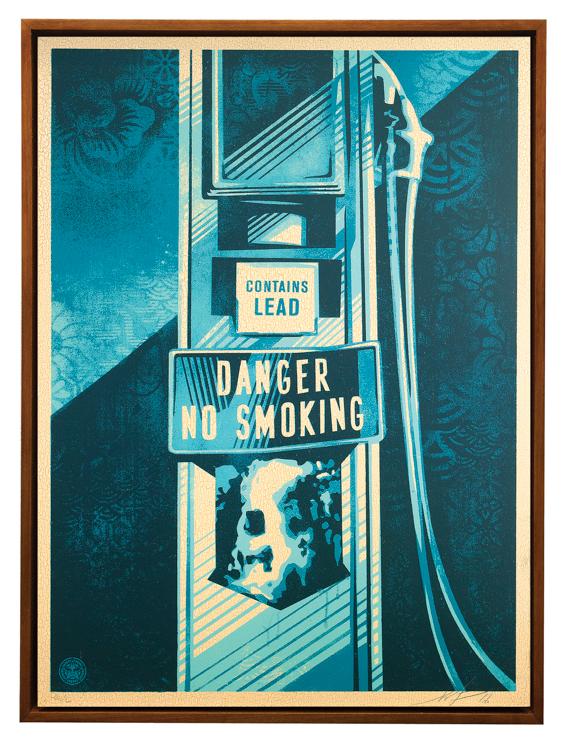 Copy of Danger No Smoking, 2016
