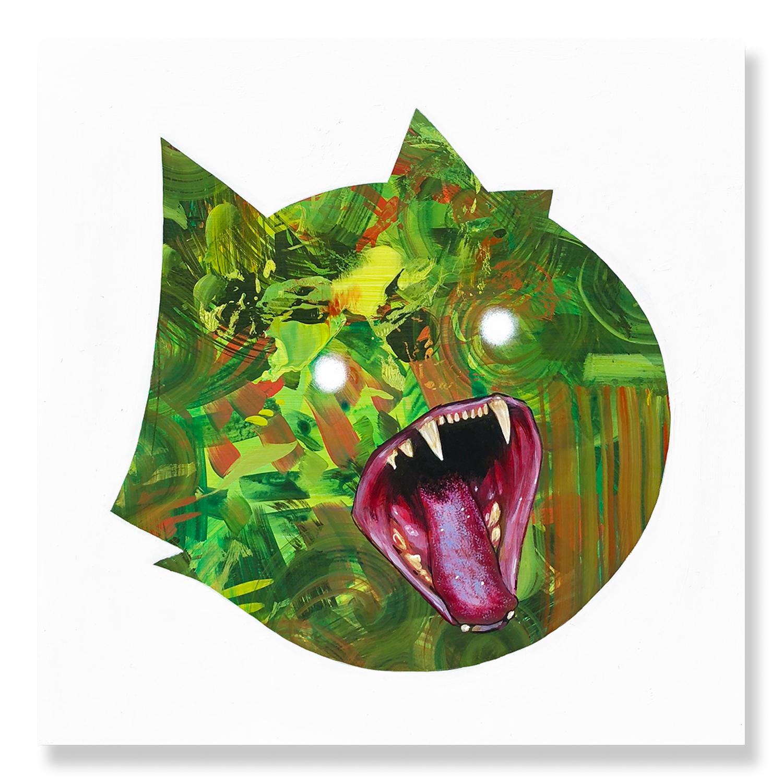 Casey Weldon - Fang You Very Much - Green (2018)