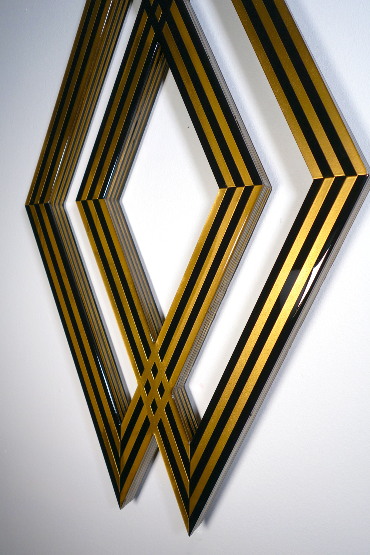 Tavar Zawacki - DIAMOND INTERSECT (GOLD), 2018