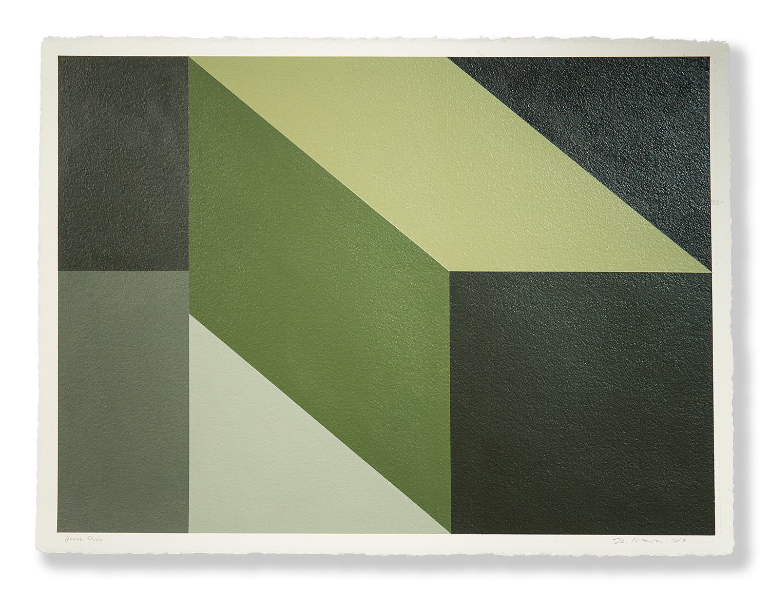 Mary Iverson - Green Study (2018)