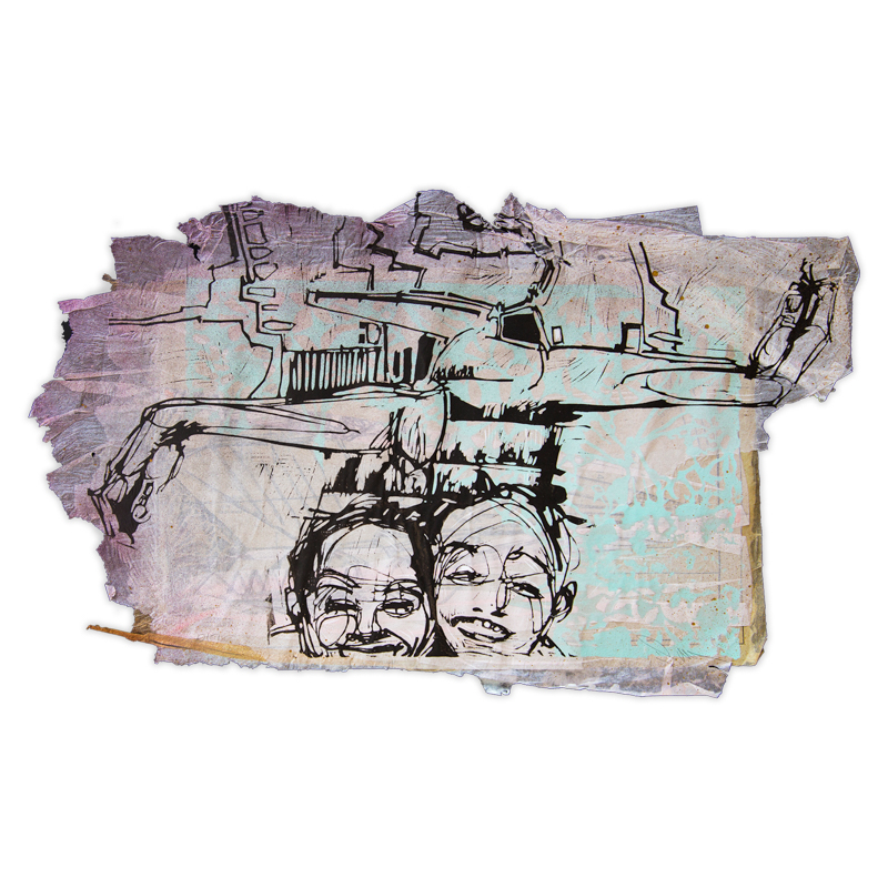 Swoon - Laughing Girls, 2017