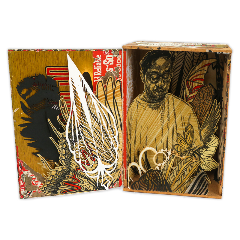 Swoon - Yaya (Jewel Box), 2018
