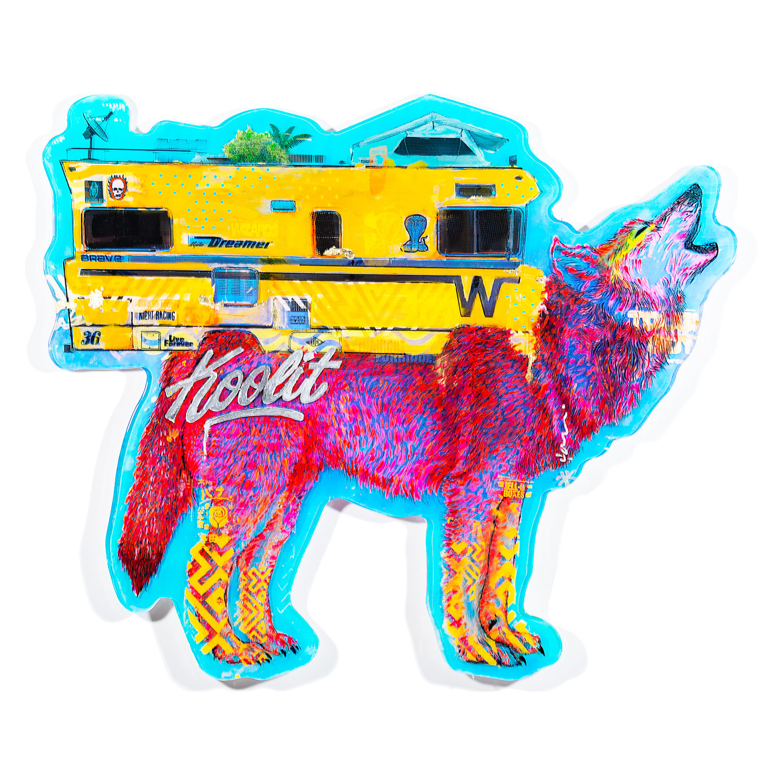 Electric Coffin - Lil Wolf Bago, 2019