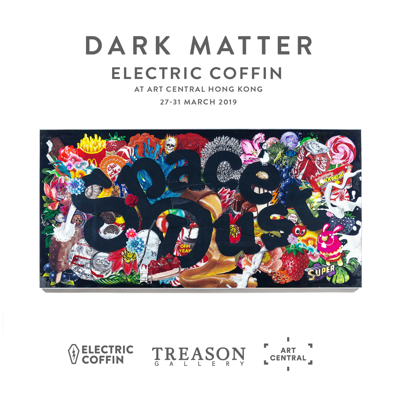 Electric Coffin - Dark Matter - Treason Gallery - Art Central Ho