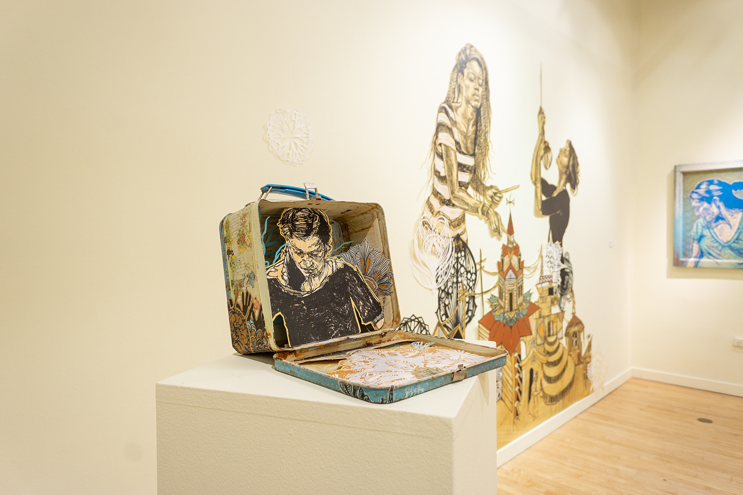 Swoon - Every Portrait Is A Vessel - Treason Gallery