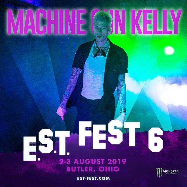 🔥The only place you need to be next month!!🙌🏾 #estfest #fest6 #ohio #mgk #keepthevibealive #meetusthere #musicfestival #est19xx