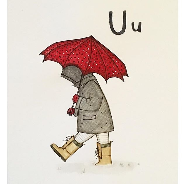U is for Umbrella