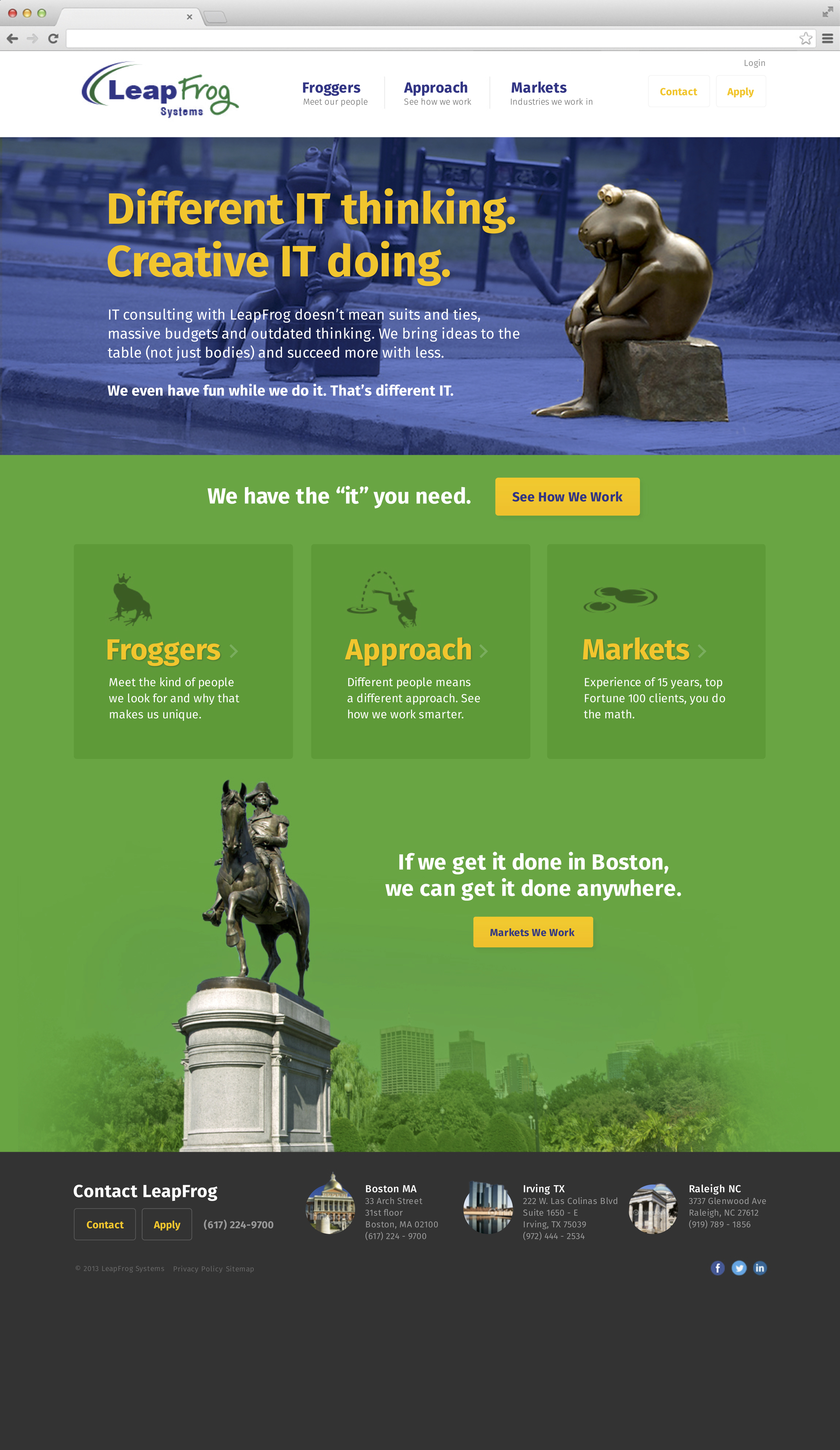 LeapFrog Systems Homepage