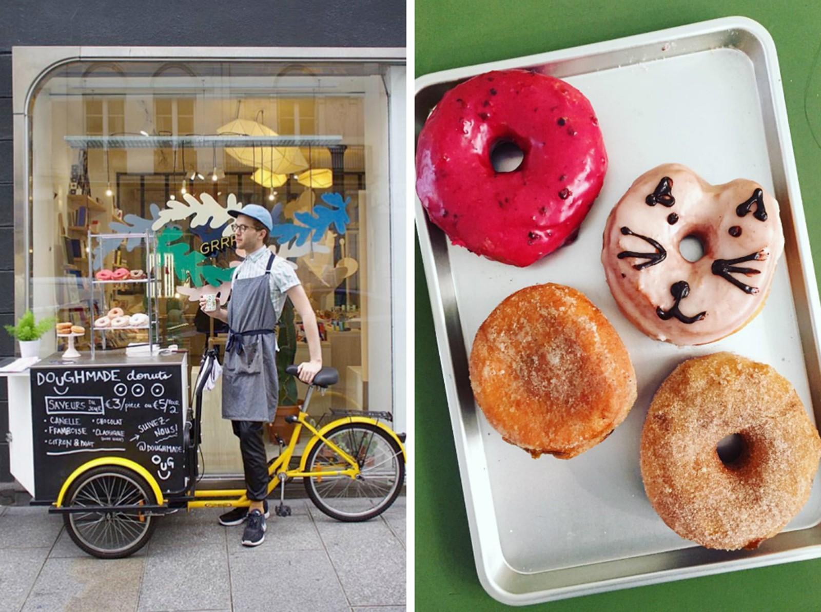 My Parisian doughnut bike, circa 2015…