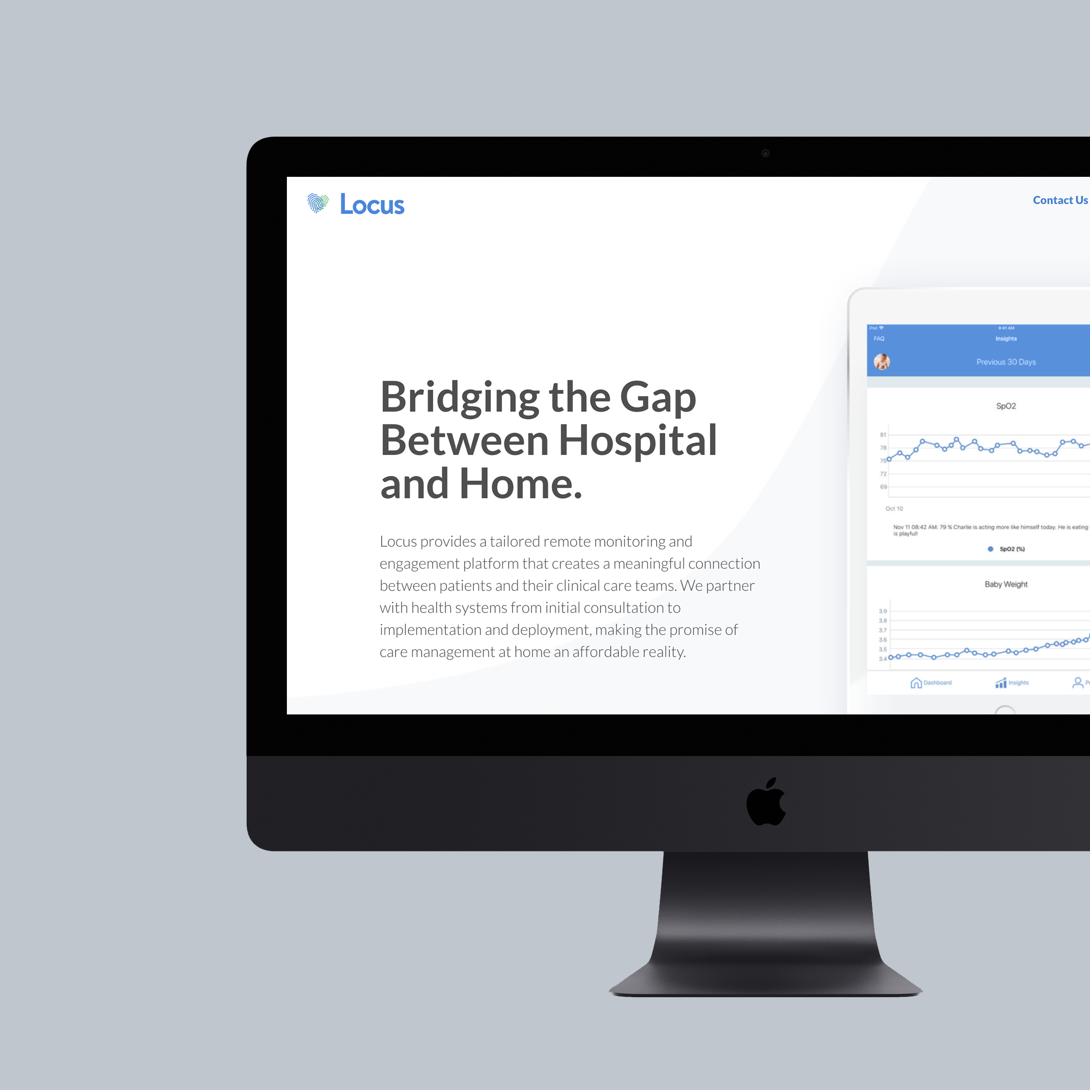 UI writing for Locus - content strategy, UI & UX writing