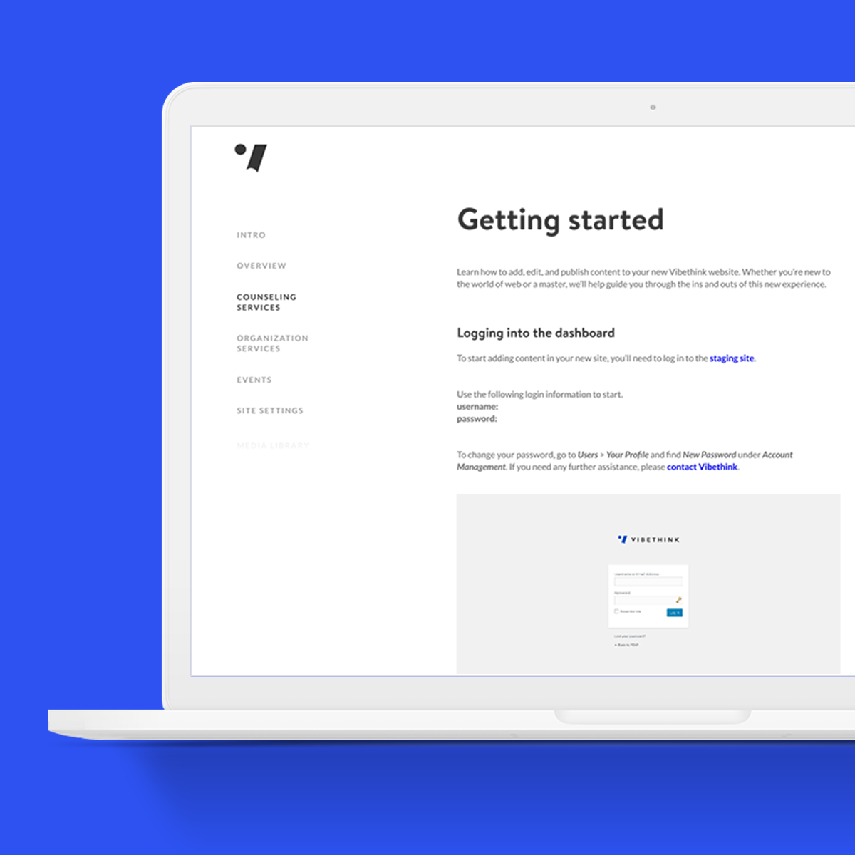 transforming client user guides - copywriting, UX writing, content strategy