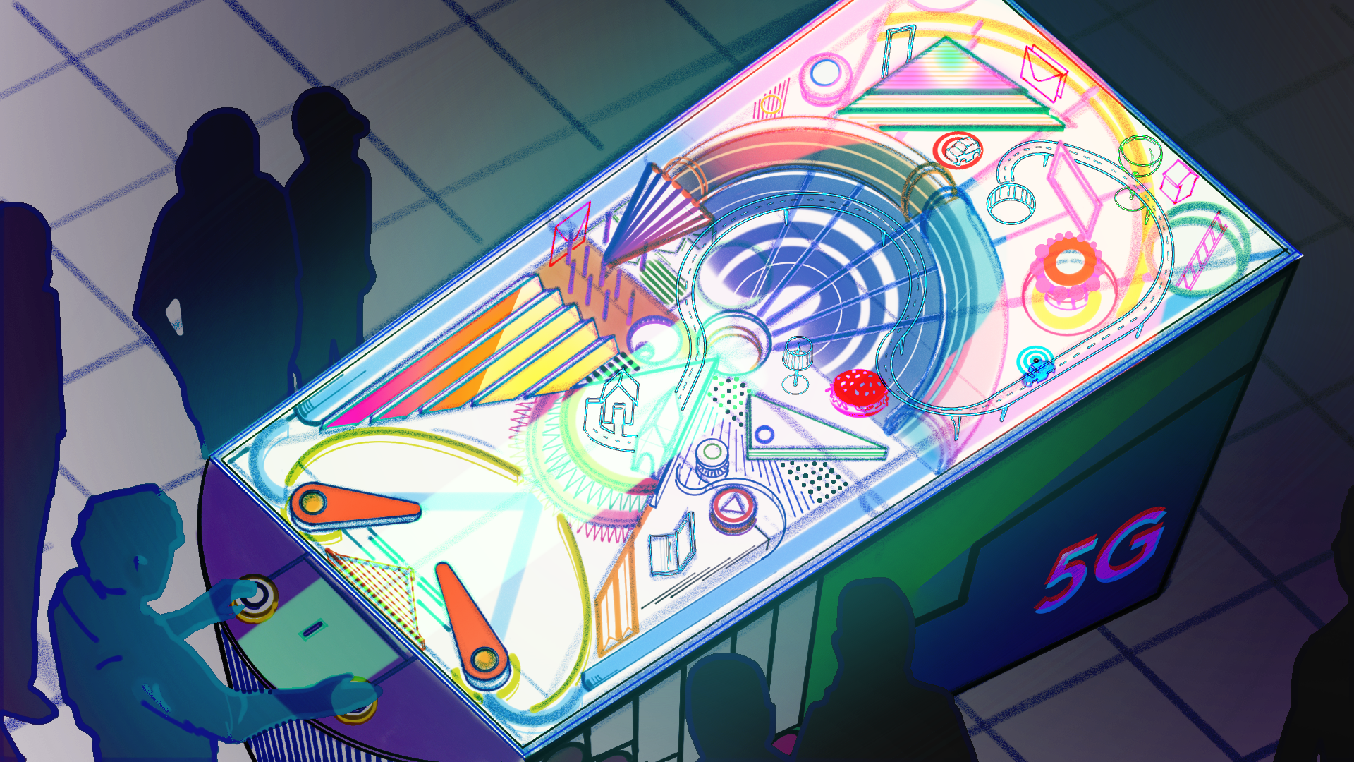 Experiential  pinball wizards.