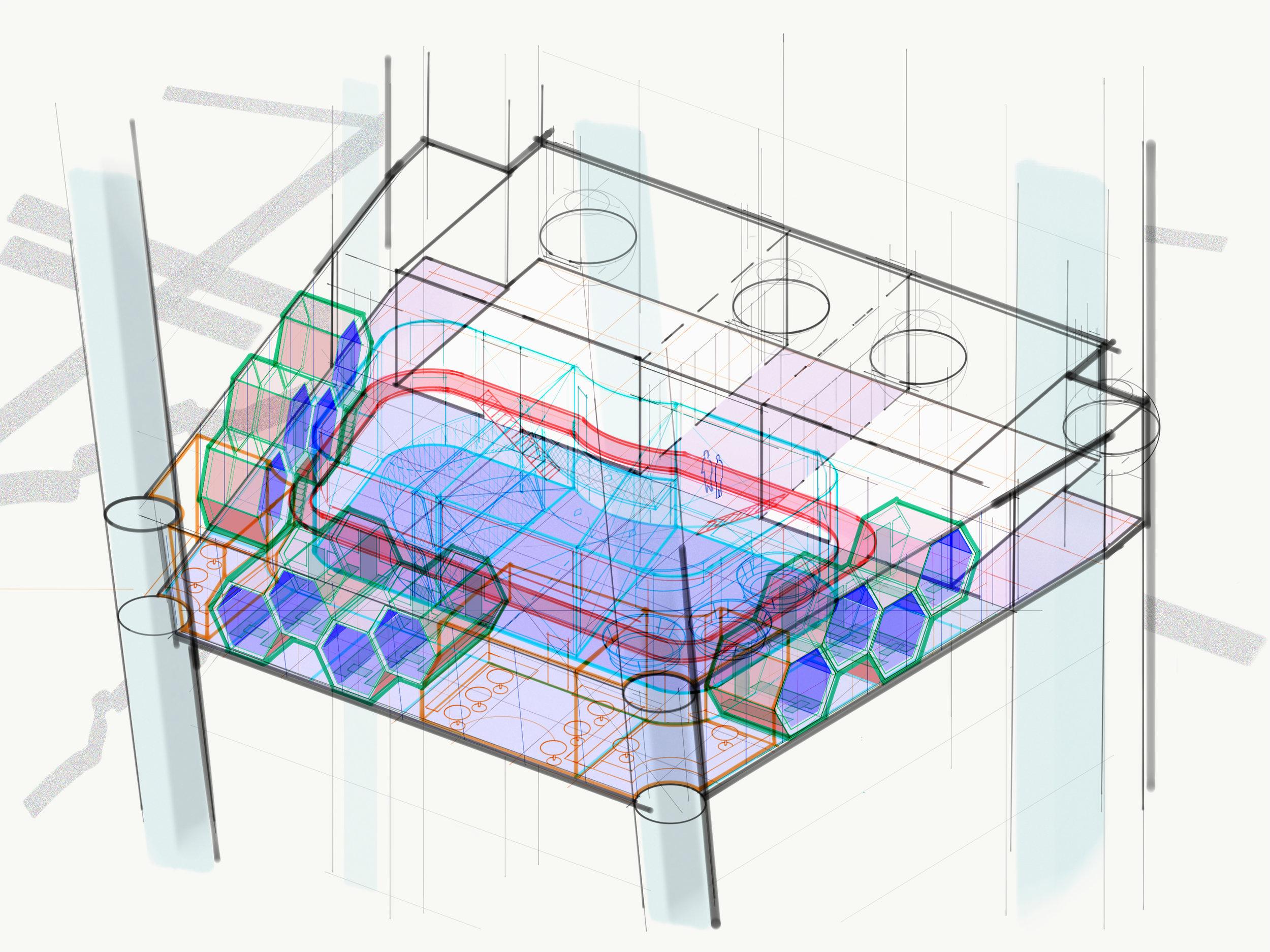 Isometric  cutaway.