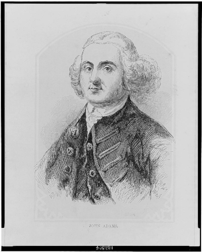 John Adams / SW. [Between 1870 and 1900] Image. Retrieved from the Library of Congress, <https://www.loc.gov/item/2002719747/>.