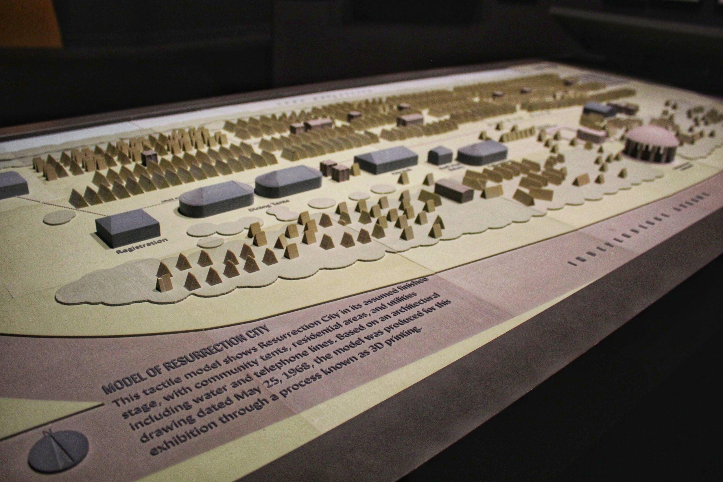Model of Resurrection City