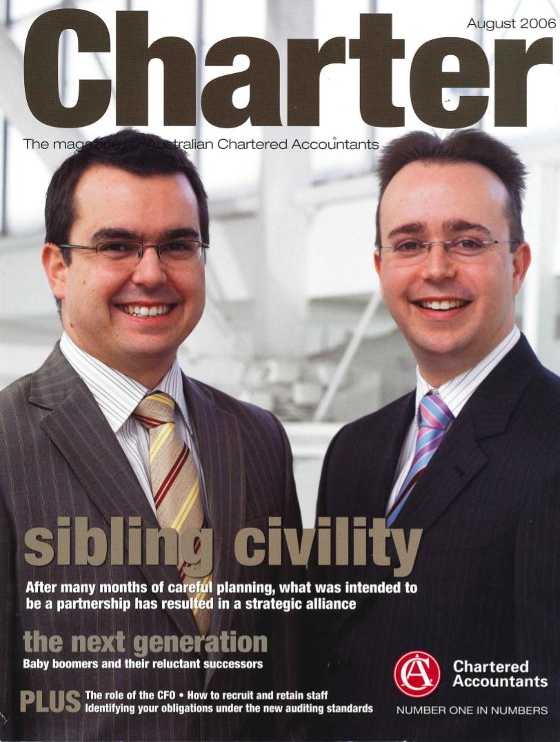 Charter Magazine - Sibling Civility