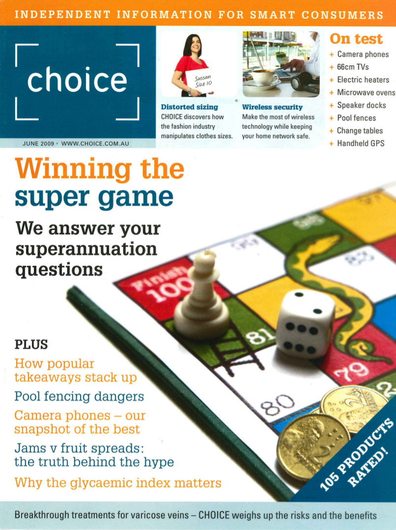 Choice Magazine - Winning the Super Game
