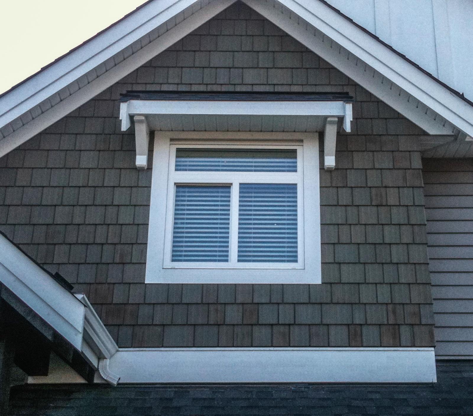 WeatherPro Exteriors - finished window