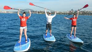 STand Up Paddle Boarding As Therapy