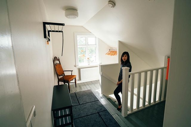 airbnb in akureyri, across the street from brynja