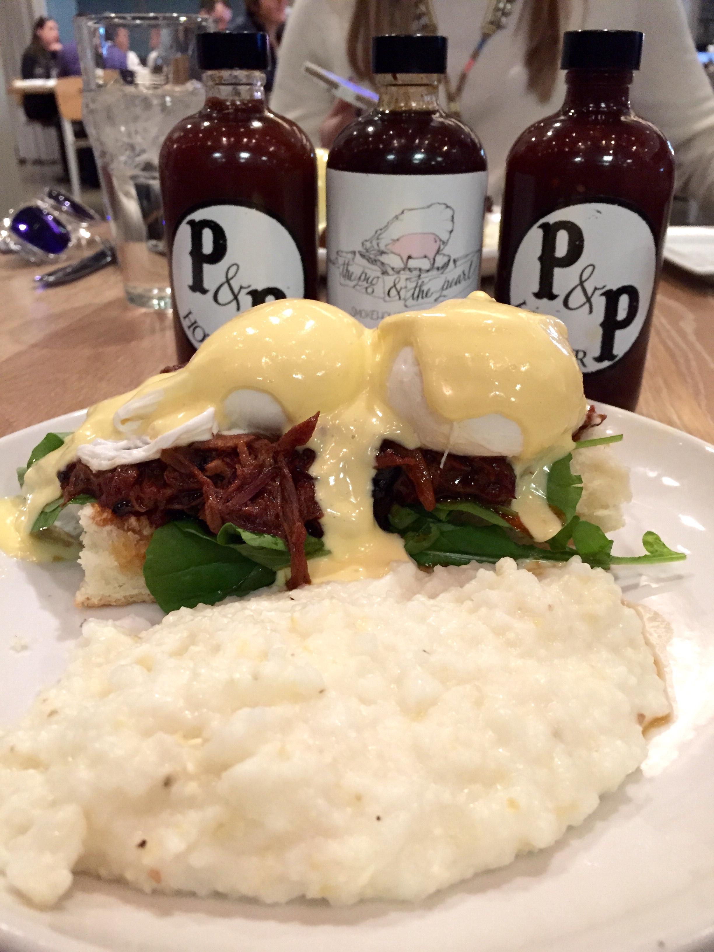 Eggs Benedict a la PandP